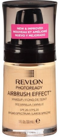 Foundation - Revlon Photoready Airbrush Effect Foundation — Bild 002 - Vanilla