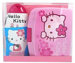 Düfte, Parfümerie und Kosmetik Kinderset - Disney Hello Kitty (Shampoo & Duschgel/300ml + Mittagsbox)