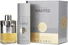 Düfte, Parfümerie und Kosmetik Azzaro Wanted - Duftset (Eau de Toilette 100ml + Deodorant 150ml)