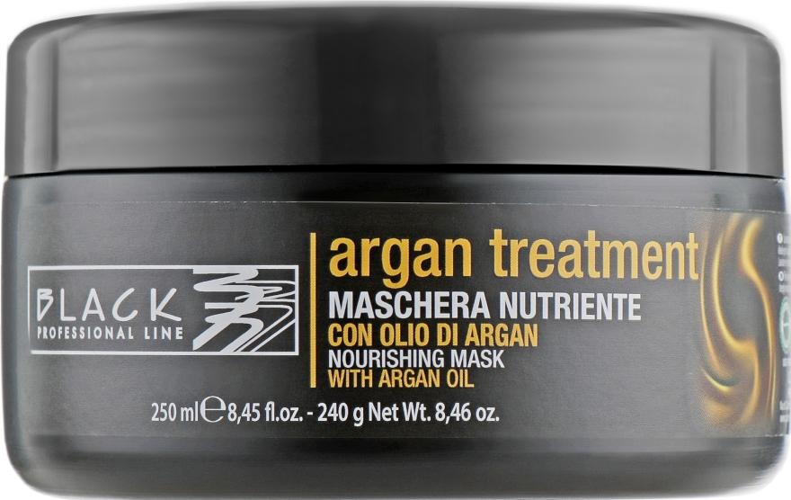 Nährende Haarmaske mit Arganöl - Black Professional Line Argan Treatment Mask