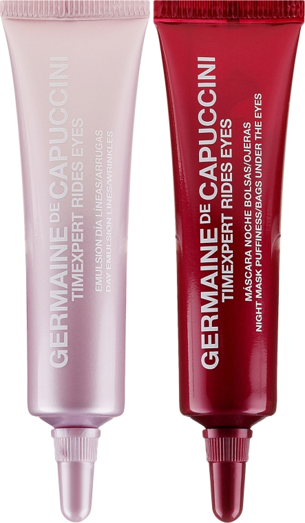 Anti-Falten Augencreme für Tag und Nacht - Germaine de Capuccini Timexpert Rides Eye Contour Treatment Night & Day (2 x 10 ml) — Bild N2