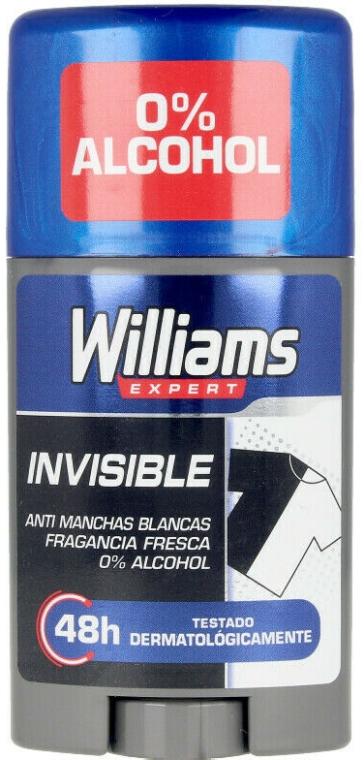 Deostick - Williams Expert Invisible Deodorant Stick