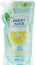 Düfte, Parfümerie und Kosmetik Mizellen-Reinigungswasser Yuzu - Bielenda Fresh Juice Detoxifying Face Micellar Water Yuzu