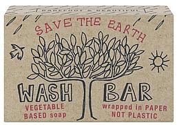 Düfte, Parfümerie und Kosmetik Natürliche Seife Save The Earth mit Bergamotte-Duft - Bath House Barefoot And Beautiful Hand Soap Wash Bar Bergamot