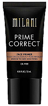 Düfte, Parfümerie und Kosmetik Gesichtsprimer zur Porenverfeinerung medium/dunkel - Milani Prime Correct Diffuses Discoloration + Pore-minimizing Face Primer Medium/Dark
