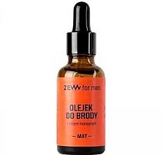 Düfte, Parfümerie und Kosmetik Bartöl mit Hanf - Zew Beard Oil