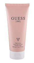 Düfte, Parfümerie und Kosmetik Guess 1981 - Körperlotion