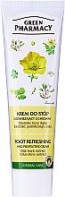 Düfte, Parfümerie und Kosmetik Erfrischende und schützende Fußcreme mit Schöllkraut und Eichenrinden - Green Pharmacy