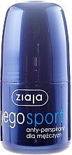 Düfte, Parfümerie und Kosmetik Deo Roll-on Antitranspirant - Ziaja Yego Sport Anti-Perspirant For Men