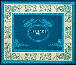 Düfte, Parfümerie und Kosmetik Versace Eros - Duftset (Eau de Toilette 50ml + Duschgel 50ml + After Shave Balsam 50ml)