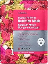 Düfte, Parfümerie und Kosmetik Pflegende Tuchmaske - Leaders 7 Wonders Tropical Andiroba Nutrition Mask