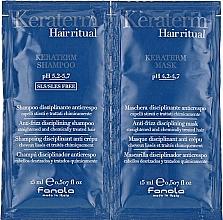 Düfte, Parfümerie und Kosmetik Set für strapaziertes Haar - Fanola Keraterm (Shampoo 15ml + Haarmaske 15ml)