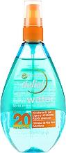 Düfte, Parfümerie und Kosmetik Sonnenschutzspray mit Aloe Vera-Extrakt LSF 20 - Garnier Delial Ambre Solaire UV Water Transparent Protecting Spray SPF20