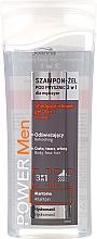 Düfte, Parfümerie und Kosmetik 3 in 1 Erfrischendes Shampoo & Duschgel - Joanna Power Men Shampoo&ShowerGel