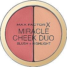 Düfte, Parfümerie und Kosmetik Konturpalette - Max Factor Miracle Cheeck Duo