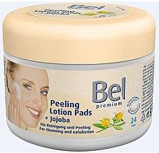 Düfte, Parfümerie und Kosmetik Lotion-Pads für Reinigung und Peeling mit Jojoba - Bel Premium Peeling Lotion Jojoba Pads