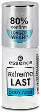 Düfte, Parfümerie und Kosmetik Langanhaltender Nagelunterlack - Essence Extreme Last Base Coat