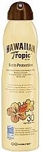 Düfte, Parfümerie und Kosmetik Wasserdichtes Sonnenschutzspray SPF 30 - Hawaiian Tropic Satin Protection Continous Spray Sunscreen Lotion SPF 30