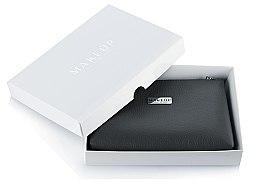 Düfte, Parfümerie und Kosmetik Kosmetiktasche Lucky schwarz im Geschenkbox - MakeUp B:21 x H:16 x T:3 cm