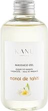Düfte, Parfümerie und Kosmetik Olejek do masażu Monoi de Tahiti - Kanu Nature Monoi de Tahiti Massage Oil