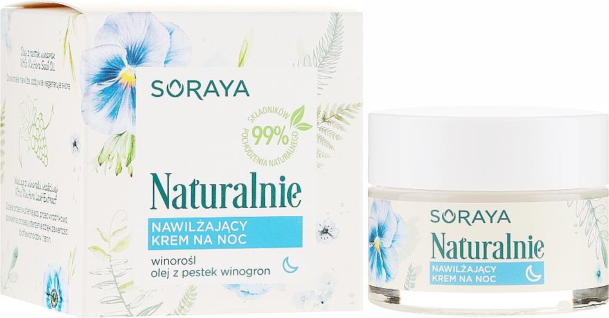 Feuchtigkeitsspendende Nachtcreme - Soraya Naturalnie Night Cream