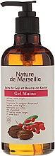Düfte, Parfümerie und Kosmetik Handwaschgel mit Goji-Beeren und Sheabutter Duft - Nature de Marseille Goji&Shea Butter Gel