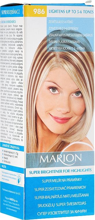 Haaraufheller № 986 - Marion Super Brightener