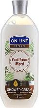 Düfte, Parfümerie und Kosmetik Duschcreme Caribbean Mood mit Mandel, Kokosnussöl und Milchprotein - On Line Caribbean Mood Shower Cream