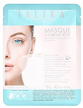 Düfte, Parfümerie und Kosmetik Pflegende Anti-Aging Tuchmaske mit rosa Tonerde - Talika Pink Clay Mask