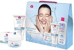 Düfte, Parfümerie und Kosmetik Set - Dermacol Aqua Beauty (cr/50ml + gel/150ml + lotion/400ml)