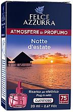 Düfte, Parfümerie und Kosmetik Elektrische Diffusor Summer Night - Felce Azzurra Summer Night (Refill)