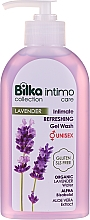 Düfte, Parfümerie und Kosmetik Intimes Gel mit Lavendelwasser - Bilka Intimate Refreshing Lavender Gel Wash