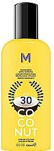 Düfte, Parfümerie und Kosmetik Sonnenschutzcreme mit Kokosnuss SPF 30 - Mediterraneo Sun Coconut Sunscreen Dark Tanning SPF30