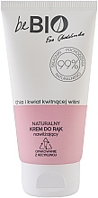 Düfte, Parfümerie und Kosmetik Natürliche und feuchtigkeitsspendende Handcreme mit Chia und japanischen Kirschblüten - BeBio Chia And Japanese Cherry Flower Hand Cream