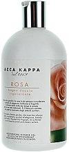 Düfte, Parfümerie und Kosmetik Feuchtigkeitsspendendes Reinigungsgel - Acca Kappa Rose Bath Shower