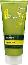 Düfte, Parfümerie und Kosmetik Pflegendes Duschgel mit grünem Tee - Be Organic Shower Gel Green Tea