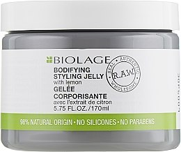 Düfte, Parfümerie und Kosmetik Haarcreme für mehr Fülle mit natürlicher Zitrone - Biolage R.A.W. Bodifyng Styling Jelly