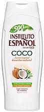 Düfte, Parfümerie und Kosmetik Feuchtigkeitsspendende Körperlotion mit Kokosnussöl - Instituto Espanol Moisturizing Body Lotion