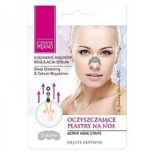 Düfte, Parfümerie und Kosmetik Nasenporenstreifen gegen Mitesser mit Aktivkohle - Czyste Piekno Nose Pack