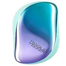 Düfte, Parfümerie und Kosmetik Kompakte Haarbürste - Tangle Teezer Compact Styler Petrol Blue Ombre