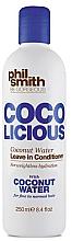 Düfte, Parfümerie und Kosmetik Conditioner mit Kokoswasser - Phil Smith Be Gorgeous Coco Licious Coconut Water Leave in Conditioner