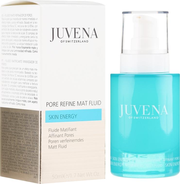 Mattierendes und porenverfeinerndes Gesichtsfluid - Juvena Skin Energy Pore Refine Mat Fluid