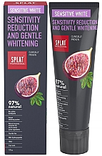 Düfte, Parfümerie und Kosmetik Aufhellende Zahnpasta mit Enzymen und Ölen - SPLAT Professional Bio Sensitive White Sensitivity Reduction & Gentle Whitening