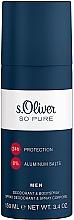 Düfte, Parfümerie und Kosmetik S.Oliver So Pure Men - Parfümiertes Deospray