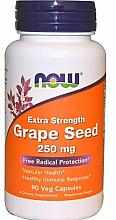 Düfte, Parfümerie und Kosmetik Nahrungsergänzungsmittel Traubenkernextrakt 250 mg - Now Foods Grape Seed Extra Strength 250 mg