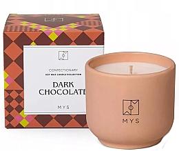 Düfte, Parfümerie und Kosmetik Soja-Duftkerze Dunkle Schokolade - Mys Dark Chocolate Candle