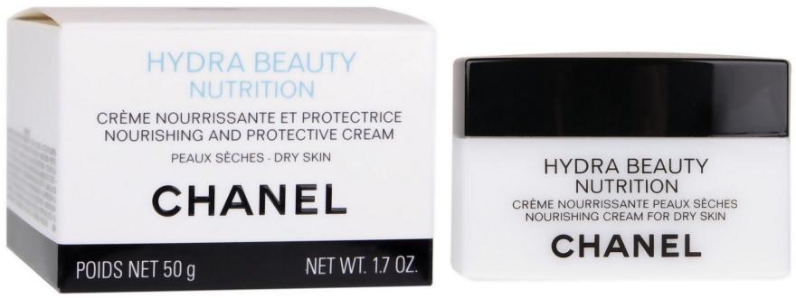 Schützende Gesichtscreme für trockene und empfindliche Haut - Chanel Hydra Beauty Nourishing and Protective Cream — Bild N3