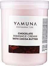 Düfte, Parfümerie und Kosmetik Körpermassagecreme mit Kakaobutter - Yamuna Massage Cream