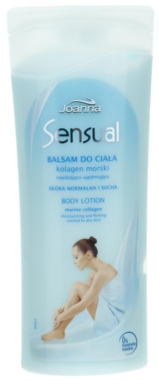 Körperlotion mit Meereskollagen für normale bis trockene Haut - Joanna Sensual Marine Collagen Balsam — Bild N1