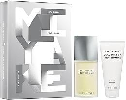 Düfte, Parfümerie und Kosmetik Issey Miyake Leau Dissey Pour Homme - Duftset (Eau de Toilette 75ml + Duschgel 100ml)